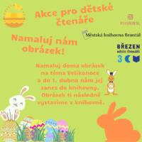 Velikonoční akce pro děti – namaluj nám obrázek