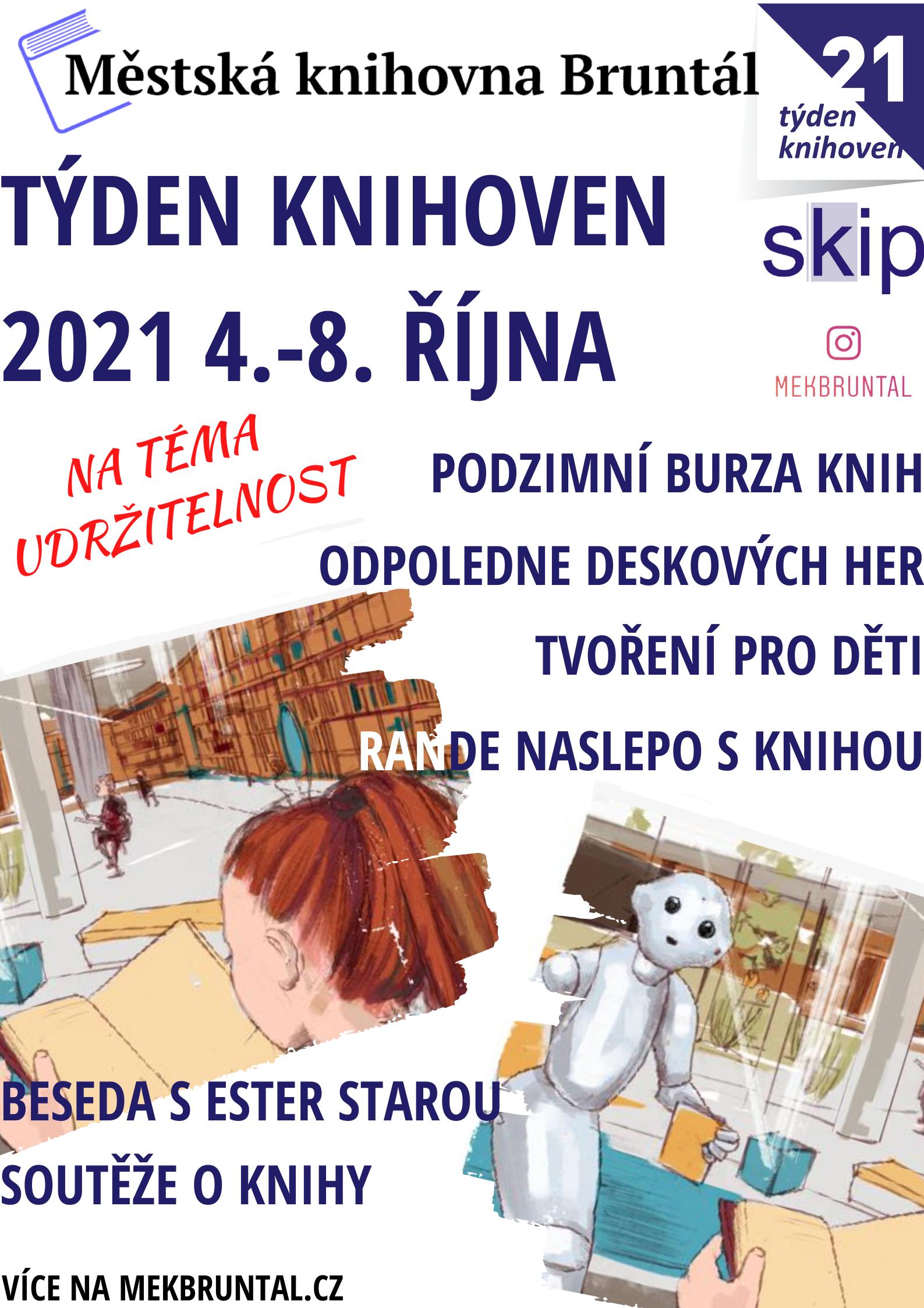 Týden knihoven 2021